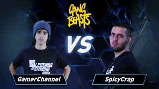 פרק 7: SpicyCrap vs GamerChannel - Gang Beasts