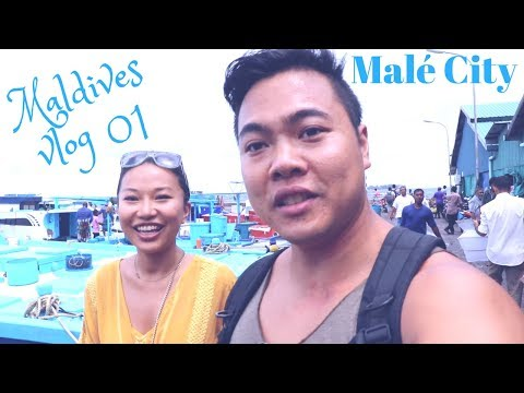 Maldives Vlog 01: Malé Island, the backstage of the Maldives resorts!
