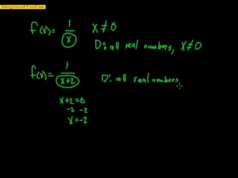 Pre-Calculus: Chapter 1 Video 1 - Functions