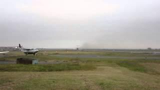 SAX Fokker F-28-4000 Takeoff fom Wilson Airport, Nairobi, Kenya