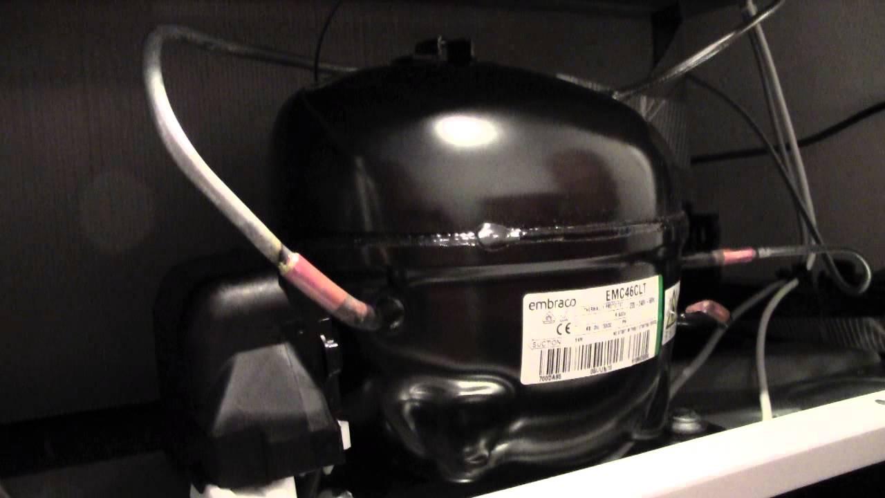 Schema Elettrico Frigorifero : Compressore da frigorifero avviamento e spegnimento youtube