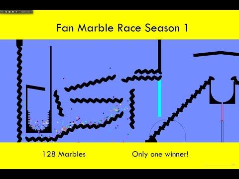 Fan Marble Race - Season 1 Part 1