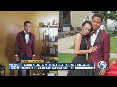 Tuxedo troubles generated by Cleveland Heights tailor