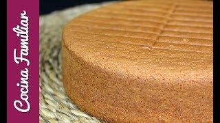 Como hacer bizcocho genovés para tartas. Recetas de Javier Romero thumbnail