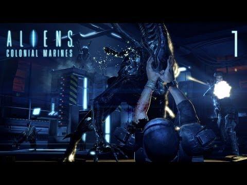 Прохождение Aliens: Colonial Marines - Часть 1 — Сигнал бедствия: Прибытие на «Сулако»