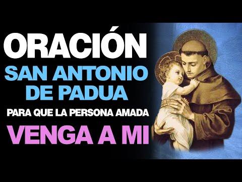 🙏 Oración «Ven a mí» San Antonio de Padua ¡HAZLO DE INMEDIATO! 🙇
