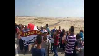 New Suez Canal in Egypt longer aware of the gift of the people of Mahalla workers new Suez Canal