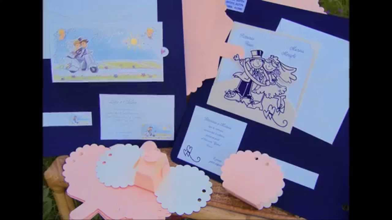 Molto Partecipazioni matrimonio spiritose e scatoline portaconfetti  BV89