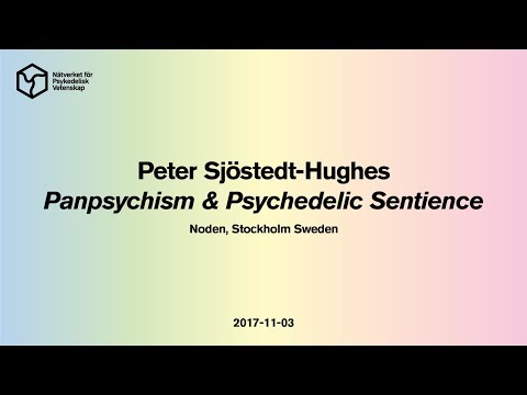 Peter Sjöstedt Hughes: Panpsychism and Psychedelic Sentience