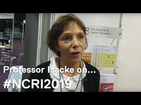 NCRI 2018: Professor Clare Isacke talks about NCRI 2019