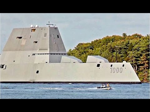 WORLDS MOST ADVANCED Naval Ship the US Navy Zumwalt class