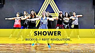 "Becky G ""Shower"" CardioDance Workout Video by REFIT® Revolution"
