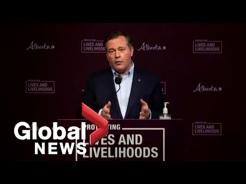 Alberta putting additional targeted COVID-19 restrictions into place   FULL