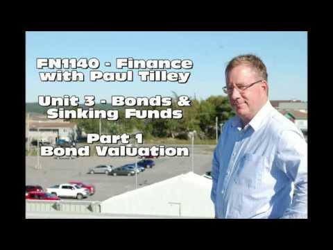 FN1140 - Unit 3 - Bond Valuation