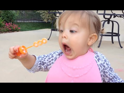 Cute Babies Blowing Bubbles - Funny Baby Videos Compilation Part 2