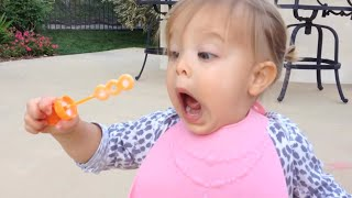 Cute Babies Blowing Bubbles Compilation 2015 [NEW HD]