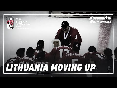 Lithuania moving up | #IIHFWorlds 2018