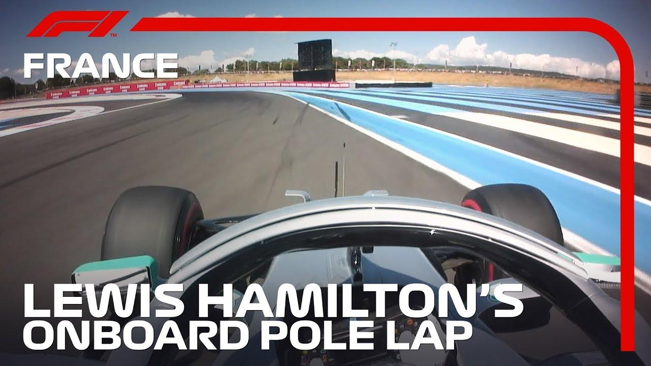 Lewis Hamilton S Onboard Pole Lap 2019 French Grand Prix Pirelli