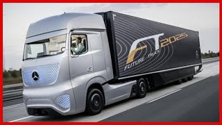 Mercedes Future Truck 2025 - Autonomous Driving Demonstration