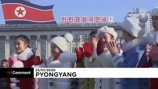 Corea del Norte celebra el Año Nuevo Lunar sin miedo al coronavirus chino