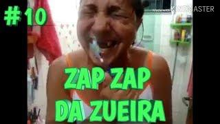 VIDEOS DO ZAP ZAP #10 - TENTE NÃO RIR - JULHO/2019