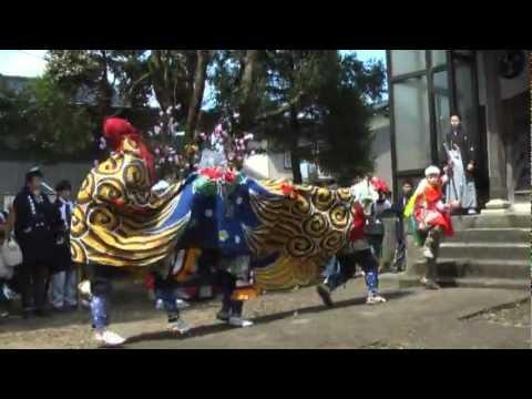 富山県高岡市百橋の獅子舞「やさやさ」