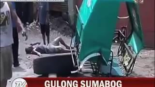 Isang lalaki, patay matapos masabugan ng gulong sa Biñan, Laguna