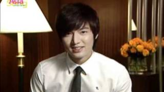 2010 Asia Song Festival Promotional Clip @Lee MinHo