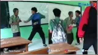 Video Eksklusif Penjelasan Pak Guru Joko tentang Video Viral Guru Dikeroyok Murid di Kendal