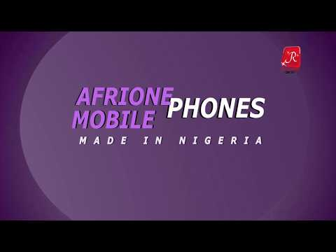 AFRIONE MOBILE PHONES - MADE IN NIGERIA (Red carpet On TV)