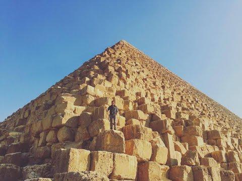 CLIMBING THE GREAT PYRAMID OF GIZA   YES THEORY