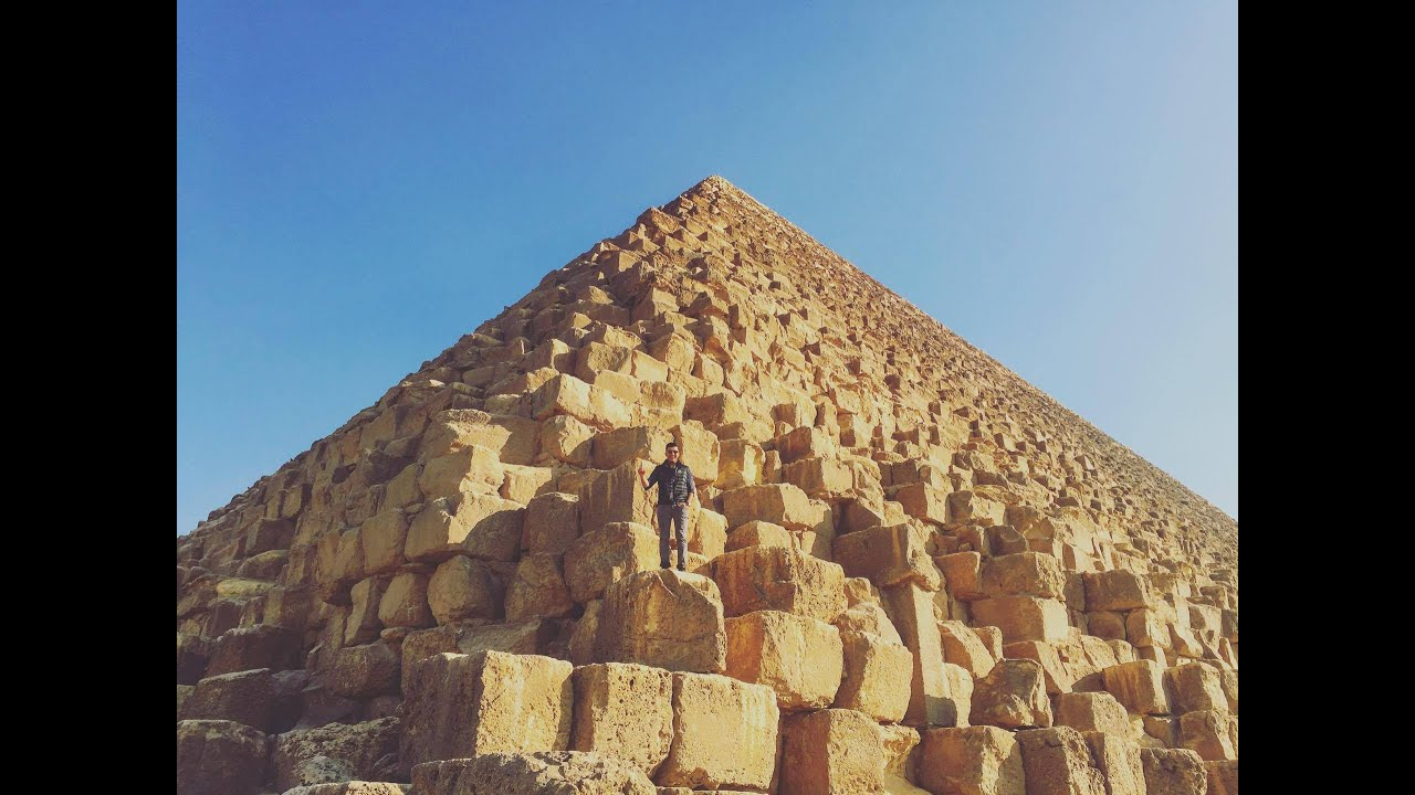 Pyramids Of Geza >> CLIMBING THE GREAT PYRAMID OF GIZA | YES THEORY - YouTube