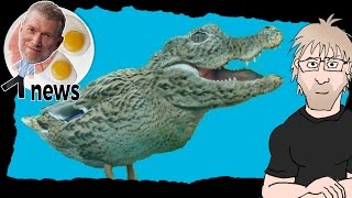 (Ken) Ham & AiG News - Crocoduck is real!