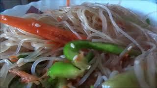 # Китайская кухня #Салат из фунчозы с овощами#