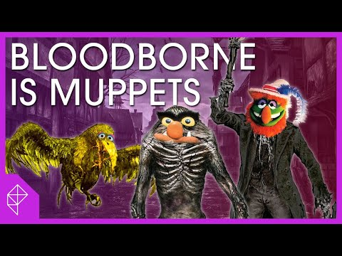 Look at these Bloodborne monsters and tell me they're not Muppets