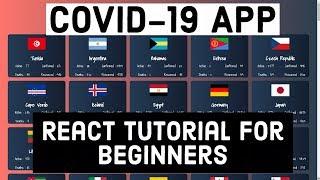 [React.js] React Tutorial For Beginners | Create A COVID-19 App Using React.js