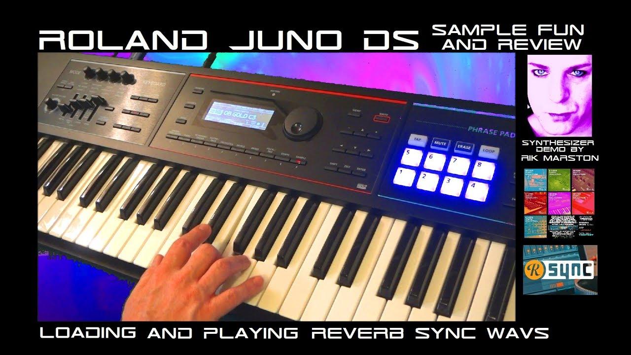 Roland Juno DS Sampling      Keyboard Forums