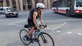 Опасные велосипедисты в Торонто