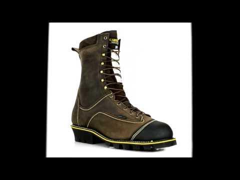 Men's Carolina Steel Toe Waterproof Logger Chainsaw Boot U.S.A.Built CA931 @ Steel-Toe-Shoes
