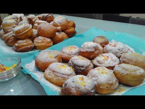 Быстрый рецепт ПОНЧИКИ   Сладенькие ,  Румяненькие ,  Быстрые  Пончики  на  Кефире
