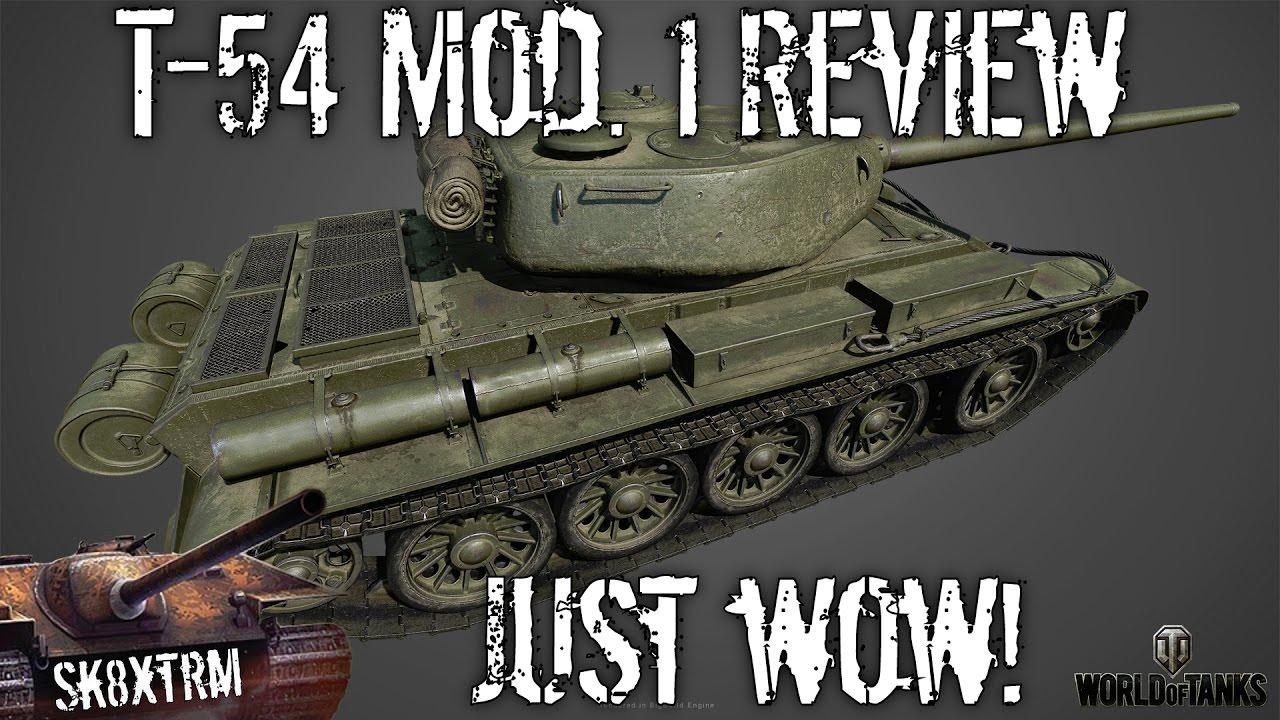 T-54 primul prototip.