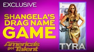 Shangela Takes In Tyra Banks To Her Drag Family - America