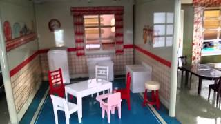 Vintage Marx Metal Dollhouse