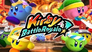 Kirby Battle Royale - Story Mode Part 1: Beginner's League! [Nintendo 3DS Gameplay]