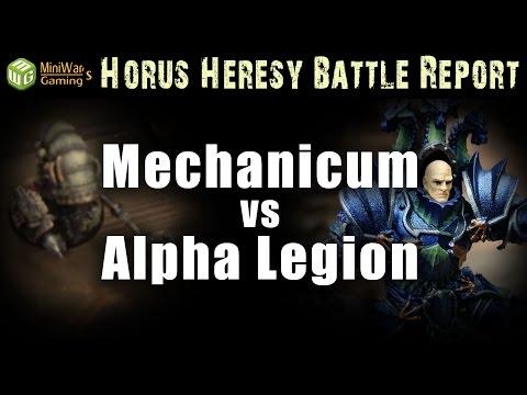 Alpha Legion vs Mechanicum Horus Heresy Battle Report Ep 37