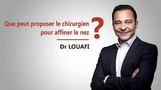 Vidéo chirurgie du nez : Rhinoplastie par le Dr Louafi