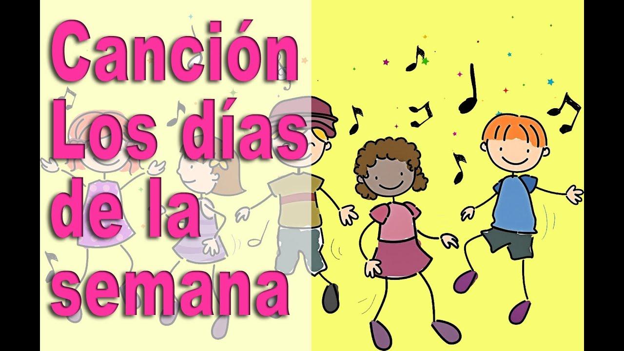 Canciones Infantiles Aprende Los Días De La Semana Con Una Canción Canta Y Aprende Youtube
