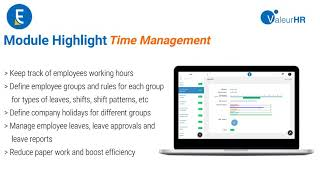 Valeurhr execution ( ve ) - time management