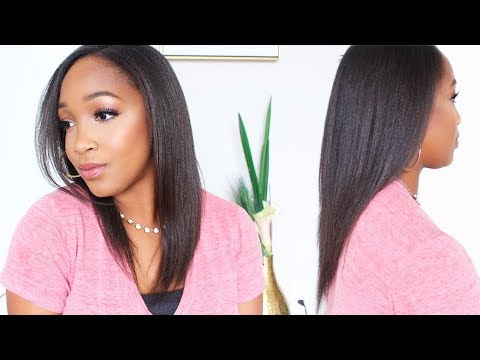 Updated Relaxed Hair Care Regimen | Maintaining Healthy Relaxed Hair