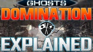How Domination Works in Call of Duty: Ghosts! (Ghosts Multiplayer Gameplay)